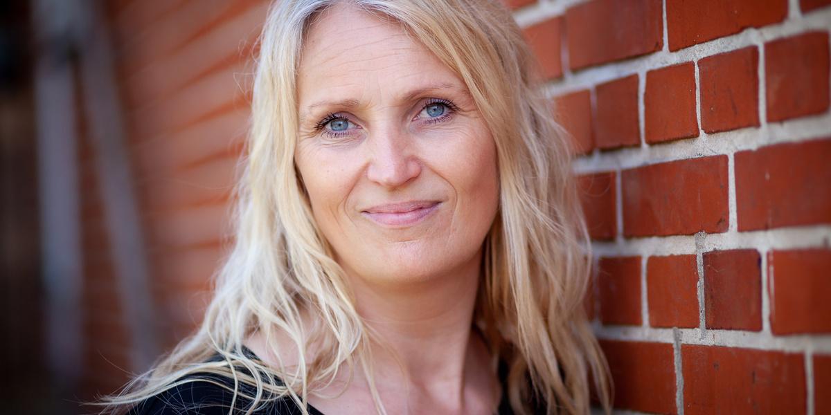 Christina Qvist underviser ordblinde